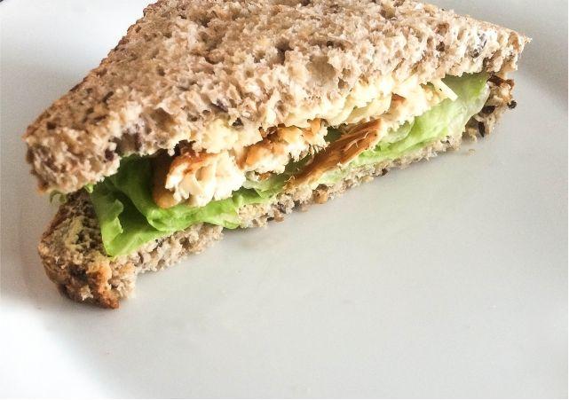 Lemon & Garlic Chicken Sandwich #food  #foodblog #foodblogger #meal #mealidea #recipe #chicken #sandwich #chickensandwich