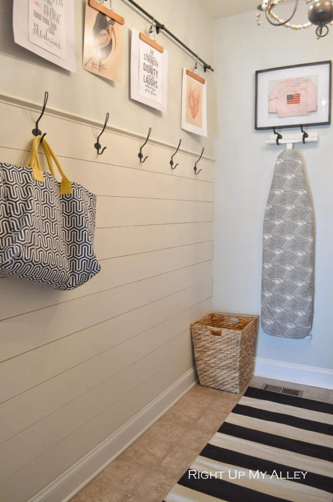 20 Laundry Room Organization Ideas For A Neat And Tidy Space Laundry Room Makeover Diy Shiplap Ship Lap Walls