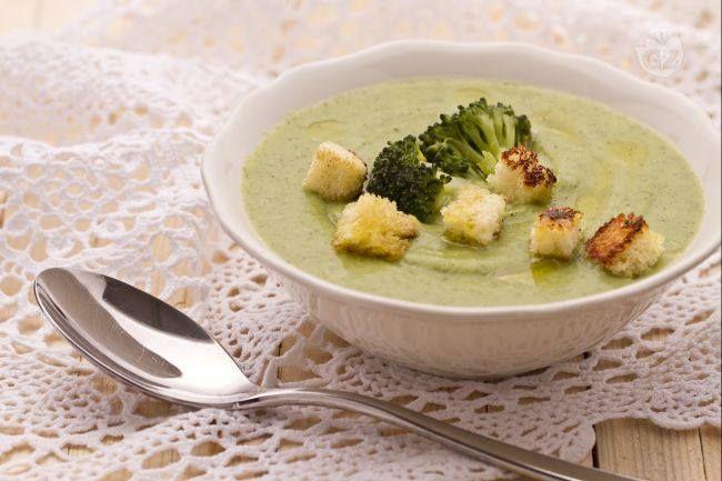 Vellutata di broccoli....Per la ricetta consultate il mio sito oppure scrivetemi nei commenti!