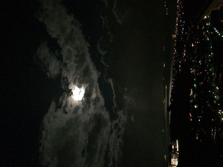 Durban full moon