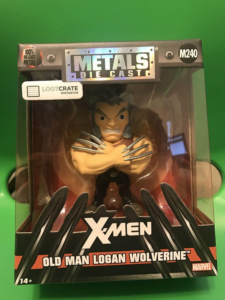 Jada Metals Figure Logan Wolverine Movie Old Man Logan M240