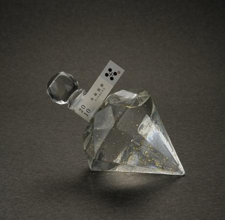 Here's another prism bottle hiba al-sharif 人気のダイヤモンドボトル】DIAMOND GOLD【楽ギフ_包装】  Sochu. PD