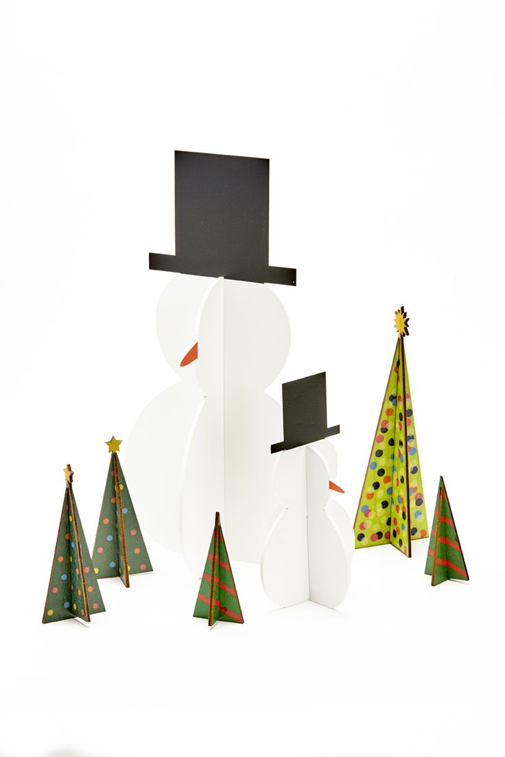 wood collapsible snowmen are now 50% off at the Shop at AGH and Design Annex. #Shopatagh #designannex