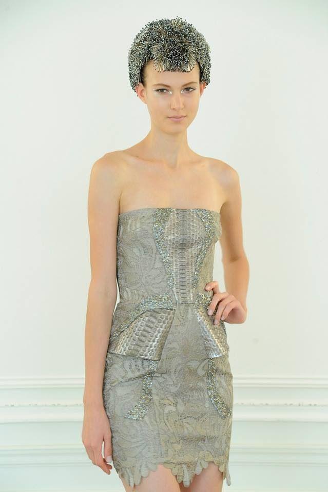 Arzu Kaprol Atelier - snakeskin dress