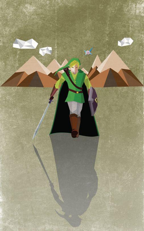 Heroes are born in Hyrule by Juan Mendez.