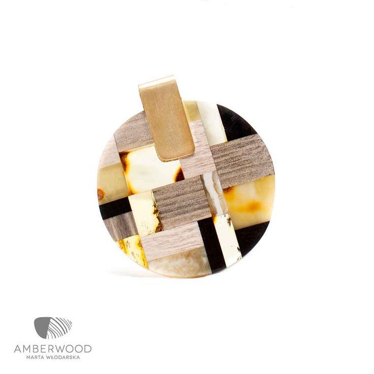 Necklace Amberwood GOLDMO1N