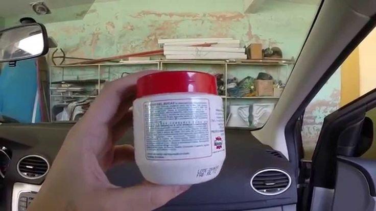 Produto para Limpar Painel de Carro : Silicone Gel Automotivo Interiores...