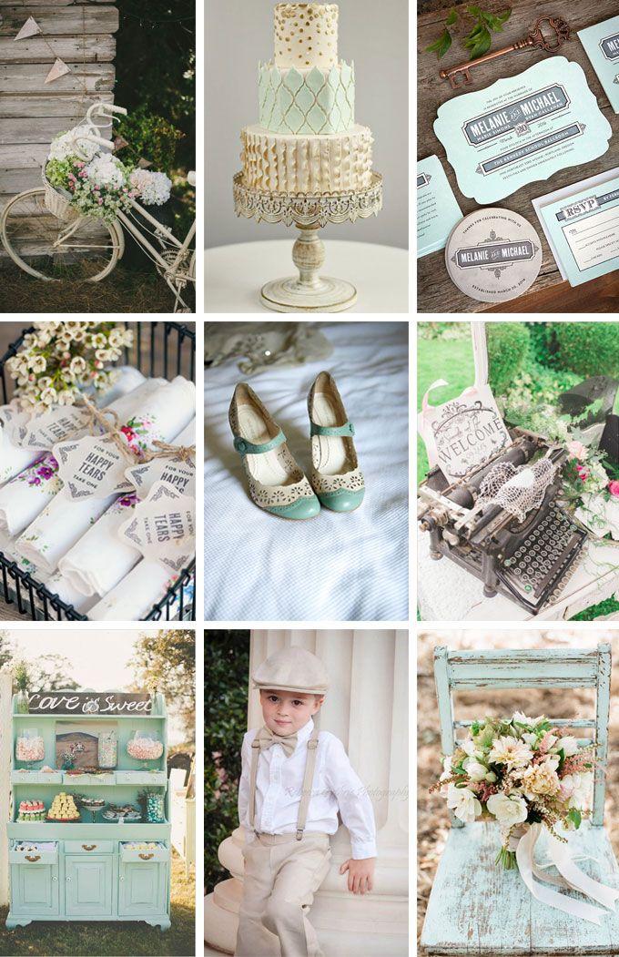Vintage Wedding Inspiration Feauturing Neue Retro Wedding Stationery | Evermine Blog | www.evermine.com
