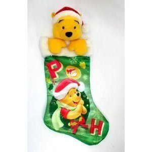 """Disney Winnie the Pooh Plush 22"""" Christmas Stocking for only $8.75"""