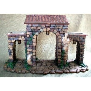 Roman Fontanini Town Gate Heirloom Wall 50606