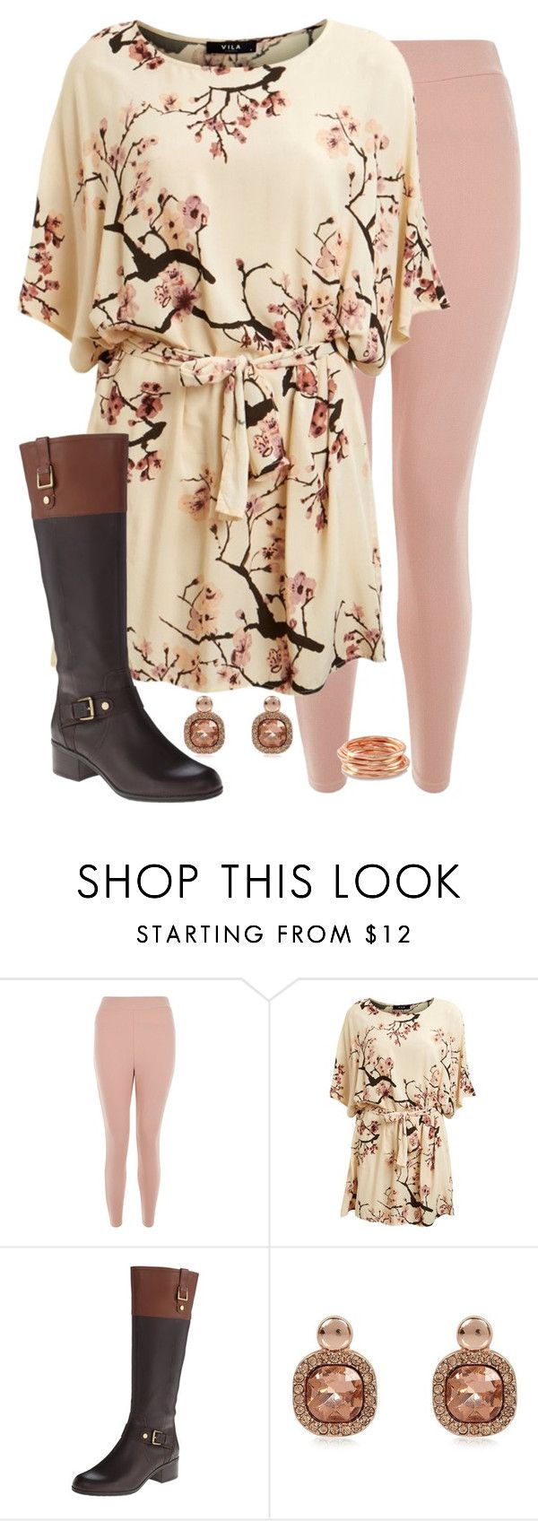 """Teacher Outfits on a Teacher's Budget 179"" by allij28 ❤ liked on Polyvore featuring New Look, Lipsy, Bandolino and River Island"
