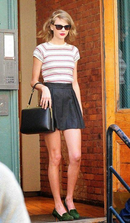 Femenices: Inspiração outfit: Taylor Swift