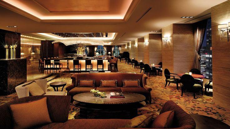 Rendering lounge bar