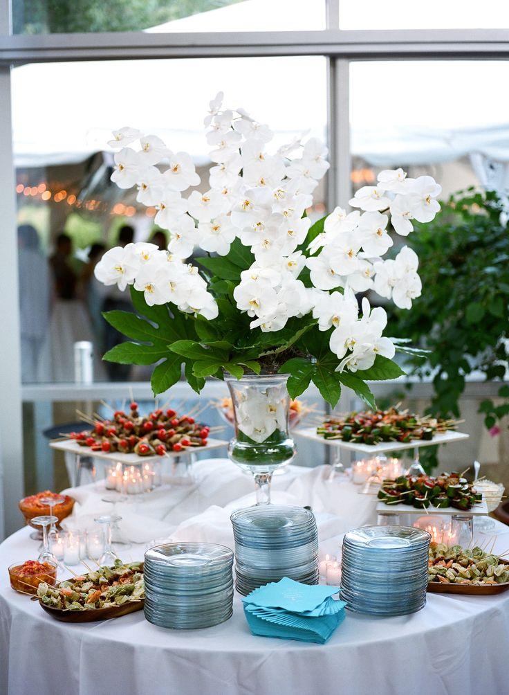 wedding venues on budget in atlanta%0A Wedding Reception Arrangement Reception Bouquet with garden Orchids  Atlanta  Wedding Flowers  Atlanta Florist