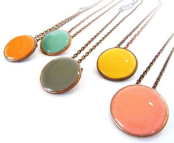 Colliers personnalisés sou  couleurs côtières  par junkdfied, $24.00