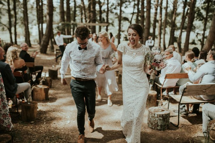 DIY forest wedding in Waimauku NZ - photography by Amy Kate