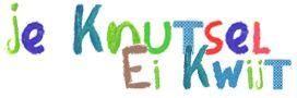 Je Knutsel Ei Kwijt Logo, hier zijn vele knutsels op leeftijd en thema's te vinden
