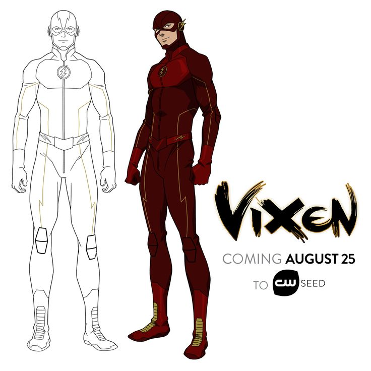From DC Comics, Vixen is coming to CW Seed in just 11 days, and she's bringing The Flash with her.