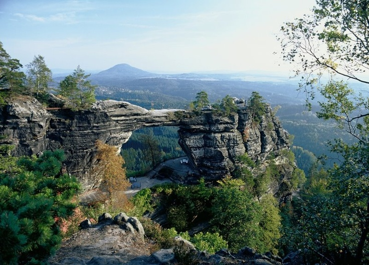 Elbe Sandstone Mountains, Czech Republic