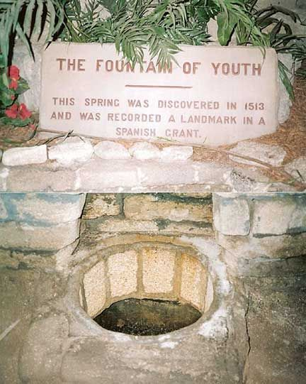 Fountain of Youth, St Augustine Florida, This Spring was discovered in 1513 and was recorded a landmark in a spanish grant. (I tried the water - didn't work or reverse my aging. Darn it. Guess I am going to have to live with this face for the rest of my life laugh lines and all!).