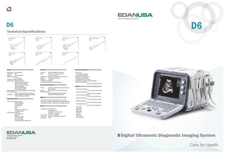 ULTRASOUND DUS 60 D6 U50 - Physician Options
