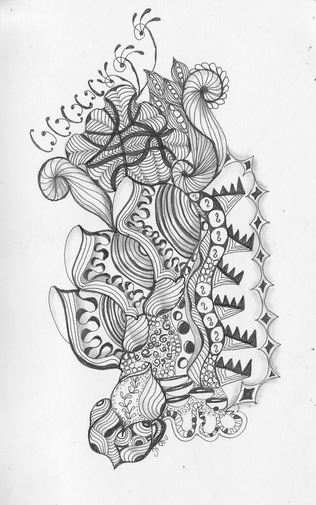 Flickr Geometric Tattoo Zen Doodle Abstract Artwork