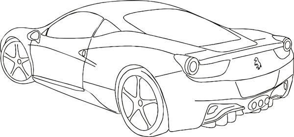 Desenhos De Carros Para Colorir Carros Para Colorir Desenhos De