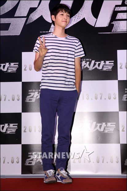 Song Joong Ki at Cold Eyes movie premiere *9