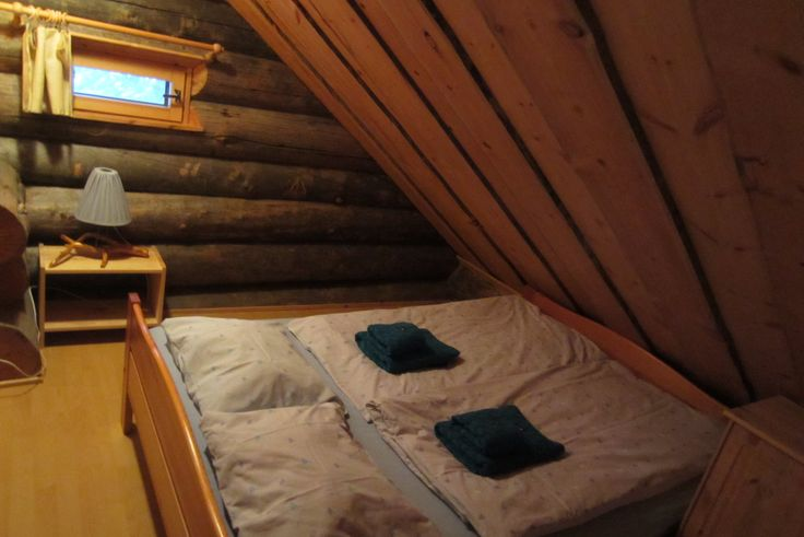 hirvipirtit lapland cabins Finland Taivalkoski, cabin nr 2, sleeping room upstairs