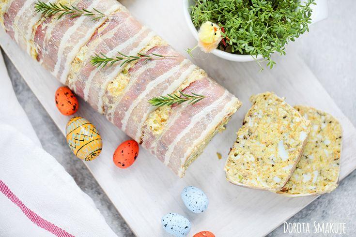 Przepisy na święta wielkanocne:  Pasztet jajeczny z boczkiem