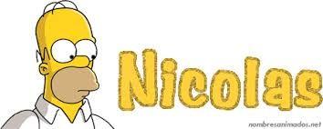 Resultado de imagen para imagenes del nombre nicolas