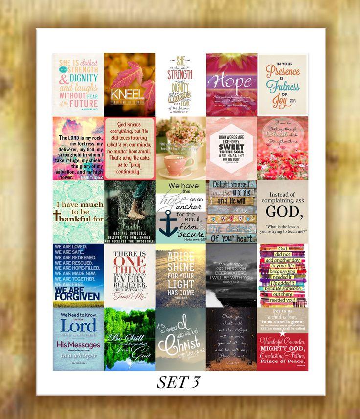 Bible Verses Stickers for Erin Condren Life by RemanDesignStudio