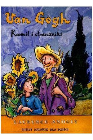 van gogh dla dzieci, sztuka dla dzieci, malarstwo dla dzieci, książki o sztuce dla dzieci