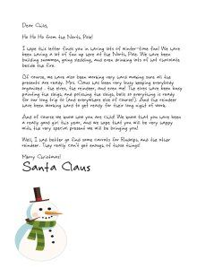Free Letters From Santa We Forgot To Tell You Abby S Christmas