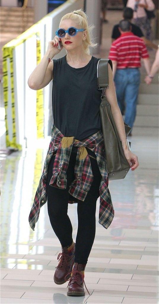 Gwen Stefani - adorable. Love this look.