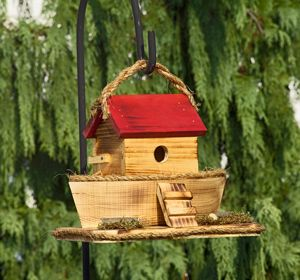 A arca de Noé birdhouse