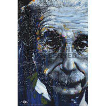 Poster: Fishwick - Einstein online te koop. Bestel je poster, je 3d filmposter of soortgelijk product Maxi Poster