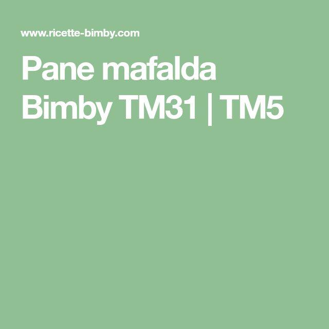 Pane mafalda Bimby TM31 | TM5