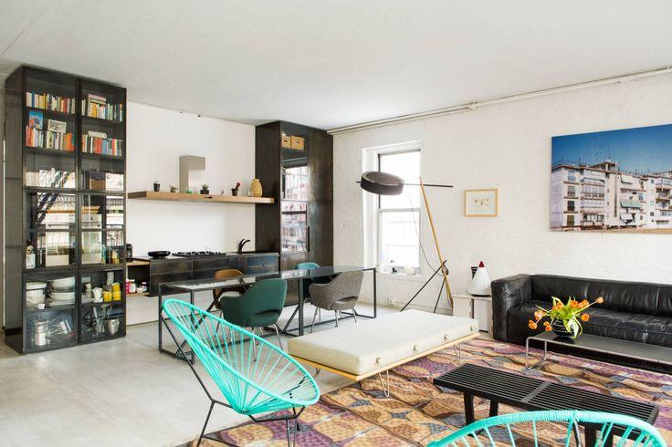 In einem gemütlichen New Yorker Apartment verwirklichte sich das Architekturbüro Labo Design Studio, das im Jahr 2001 von Raffaella Bortoluzzi gegründet wurde.
