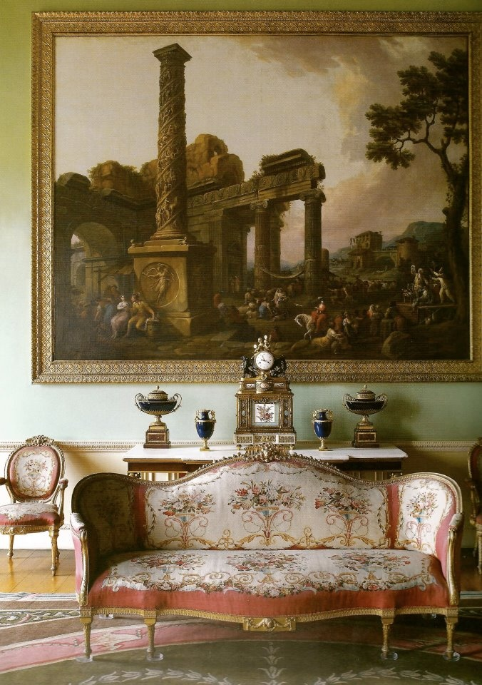 The Music Room Of Harewood House 18th Century Designed