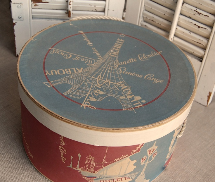 Vintage Hat Boxes   Google Search