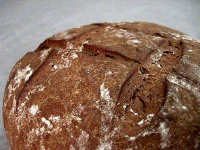 German Dark Rye Bread recipe