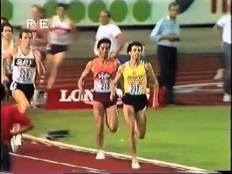 Sebastian Coe 1500m Zurich 1984