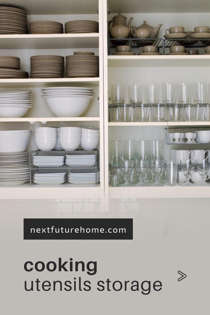 10+ Creative Ways to Organize Cooking Utensils | Kitchen ...