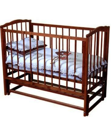 Красная звезда С 619 Кристина вишня  — 8860р. ------------------ Кроватка детская Красная Звезда С 619 Кристина изготовлена из натуральной древесины. Для покрытия использована безопасная краска на водной основе.