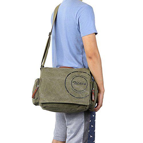 Comoda e pratica la borsa a tracolla da spalla per gli uomini. Link: http://www.bag-chic.com/borse-spalla-uomo/