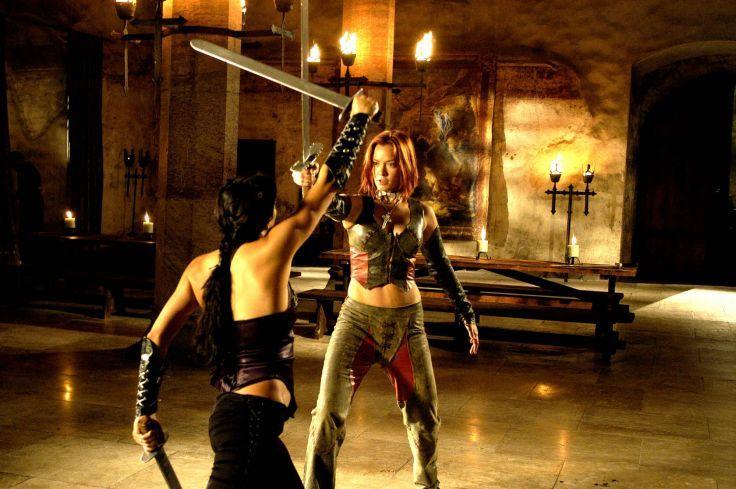 BLOODRAYNE action adventure fantasy vampire dark fighting warrior sexy horror blood