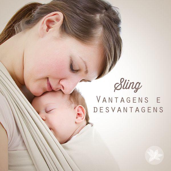 Sling, um carregador de bebê feito de pano que dá mobilidade a mães com crianças de colo, é uma tendência entre as 'mães canguru'. O sling é útil por garantir à mãe a liberdade de ter o filho por perto, ou melhor, colado ao corpo, sem perder a mobilidade. Conheça as vantagens e desvantagens do uso do sling: http://denoivaamae.com/dicas-gestantes/sling-vantagens-e-desvantagens/