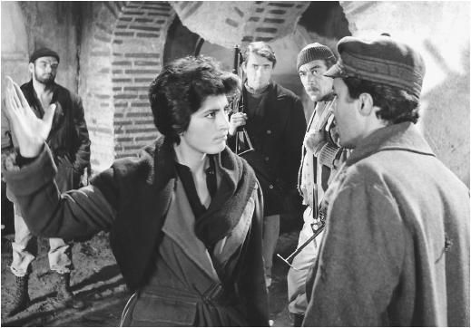 VISIT GREECE| The Guns of Navarone, (1961) with Anthony Quinn, partly shot on #Rhodes, #Dodecanese #Greece with Stanley Baker (left) with Irene Papas, Gregory Peck, Anthony Quinn, and James Darren