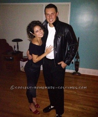 Cool Couple Costume Idea: Sandy and Danny from Grease